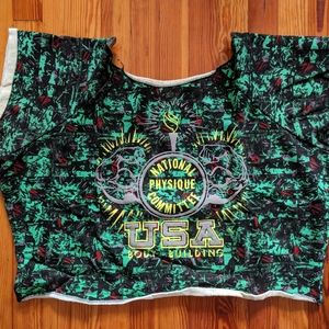 Other - vintage 90s cropped Muscle shirt sweatshirt